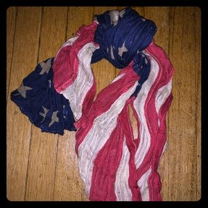 American flag denim and supply scarf !! 🔥🔥🔥